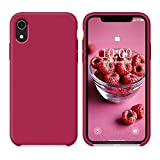 SURPHY Coque iPhone XR, Coque Antichoc iPhone XR Silicone Liquide Ultra Mince Premium...
