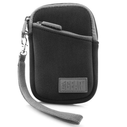 Kompaktkamera-Tasche / Kamerahülle Kameratasche / Fototasche Regenschutz Hülle für Kompaktkamera wie Canon IXUS 185 Powershot SX710 Sony DSC-RX100 Nikon Coolpix A15 Sony Alpha 6500 Rollei von USA Gear