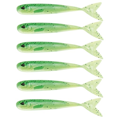 WestinMega Teez 3,5' (88,9mm) No Action V Tail Shad Lime Curd