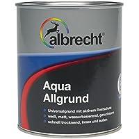 Albrecht Aqua Allgrund weißmatt 3400455220000000750, 750 ml