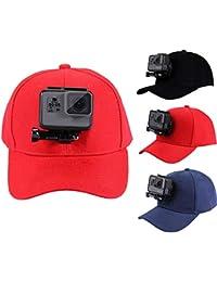 PULUZ para GoPro Accesorios - Gorra de béisbol para exteriores con soporte  para GoPro Hero 1 5271dbdcb0f