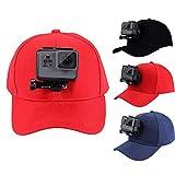 PULUZ für Gopro Zubehör Outdoor Sun Hat Topi Baseball Mütze Cap Baseballkappe W / Halter Halter für Kamera GoPro HERO5 HERO4 Session HERO 5 4 3 2 1