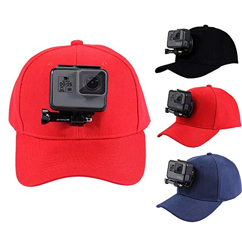 JIGUOOR Baseball Hat with Holder Mount for GoPro 6  5  5 Session  4 8480f045910
