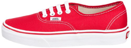 vans authentic unisex erwachsene sneakers rot rot eu. Black Bedroom Furniture Sets. Home Design Ideas