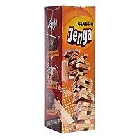 Jenga Classic Full Stack Crash - Wood Moski 48 Pieces