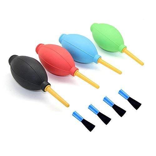 Air Blower Staubgebläse Staub-Gebläse-Reinigungs-Werkzeug-optische Linse und Digital-SLR-Kameras starkes Staub-Gebläse mit Bürste für Computer-Tastatur, Leiterplatte, Handy, Uhr, Kamera-Objektiv