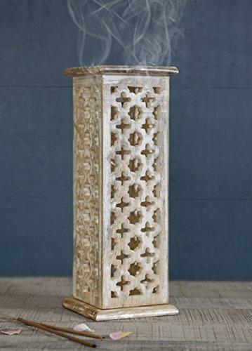 store-indya-incense-en-bois-cone-tower-stick-bruleur-holder-ash-catcher-main-sculpte-avec-finition-a