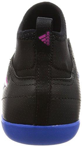 adidas Ace 17.3 In J, Scarpe Per Allenamento Calcio Unisex – Bambini Nero (Negbas/Ftwbla/Azul)
