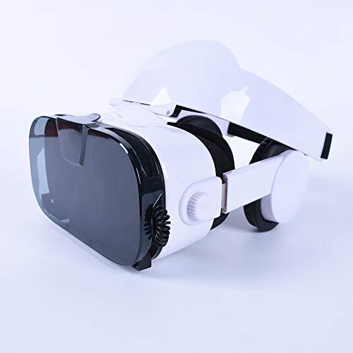 FSM88 Virtual-Reality-Headsets, Virtual-Reality-Helm VR-Brille 3D-Spiel Stereo-Kopfhörer Surround-Audio-Visual-Brille, geeignet für 4,5-6,3-Zoll-IOS/Android 3d-audio-kopfhörer