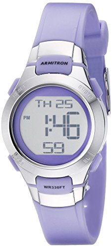 armitron-sport-womens-45-7012prsv-purple-and-silver-tone-digital-watch