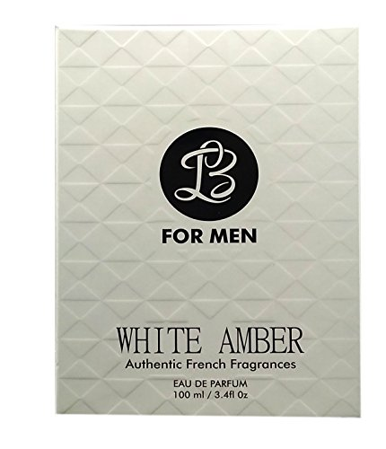 New LB White Amber Authentic French Fragrances for Men – 100ML
