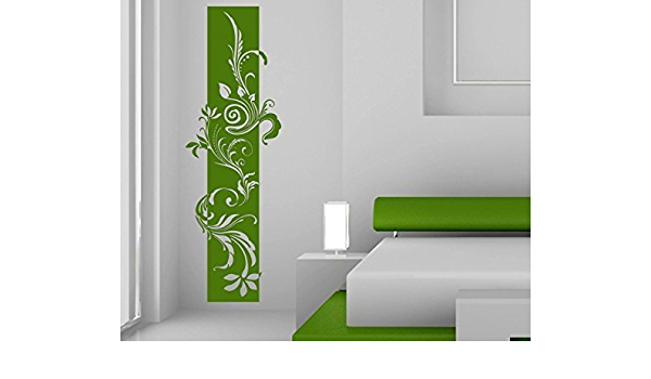 XXL Wall Tattoo Banner Flowers Vine Wall Sticker Sticker Strips Deco
