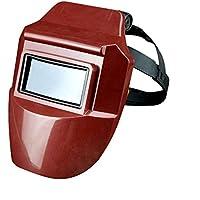 Casco de soldadura, máscara protectora profesional de oscurecimiento automático con 313 nm de tasa de penetración UV, mejor claridad óptica (1/1/1/1), amplia gama de pantalla 4-8/9-13