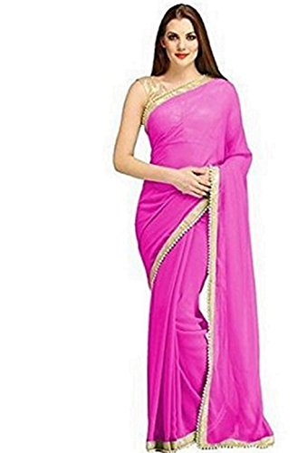 SAREES(Women\'s Clothing Sarees for women latest Green Color Sarees collection in latest Lycra Sarees with designer Blouse Piece free size beautiful bollywood Sarees for women party wear offer designe