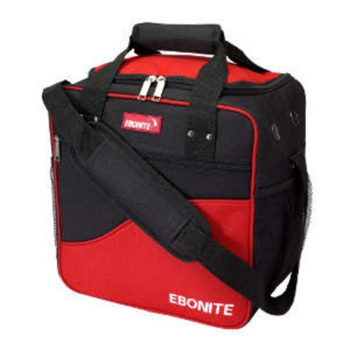 Ebonite Bowling Ball Single Tasche Bag Basic red (Bowling Bag Für Einen Ball)