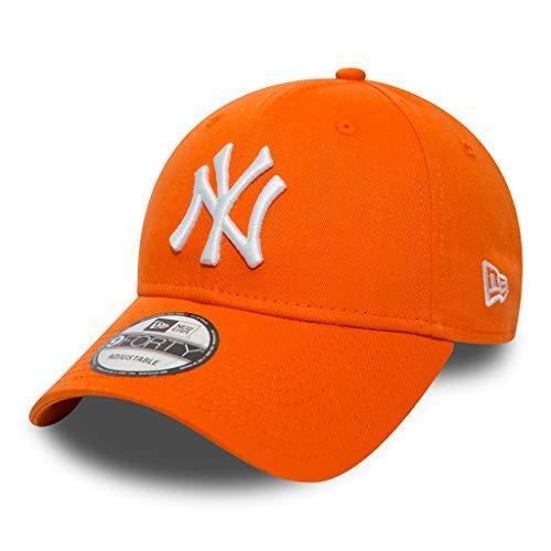Unbekannt New Era 9forty Strapback Cap MLB New York Yankees NY Orange, OSFA (One Size fits All)