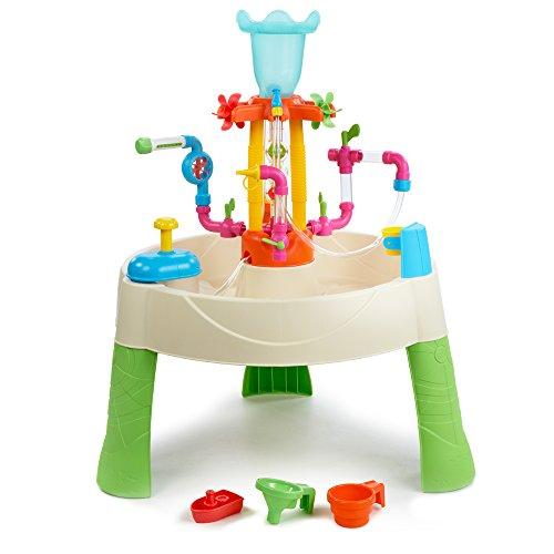 Little Tikes 642296M Fountain Factory Table d'activités avec Jeux d'eau et de fontaines