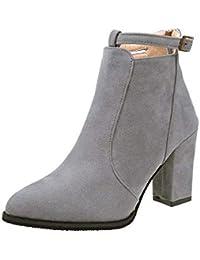 Para Zapatos Mujer Lentejuelas Amazon 34 Cinturon es FTnXHPqA