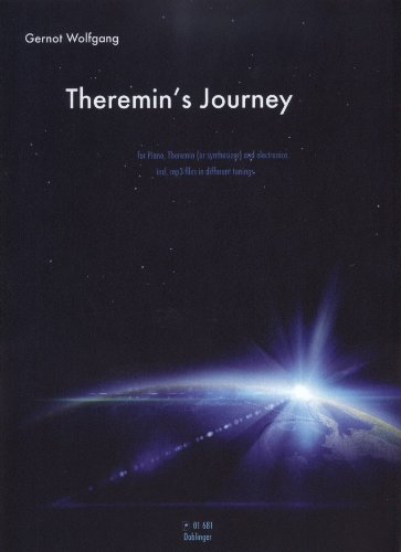 """Preisvergleich Produktbild """"Theremin's Journey"""" Ausgabe für Klavier, Theremin und Electronica von Gernot Wolfgang"""