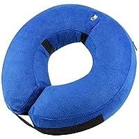 Xelparuc Collar Hinchable pequeño para Perros, Suave Collar de protección para Mascotas para Perros pequeños y Gatos