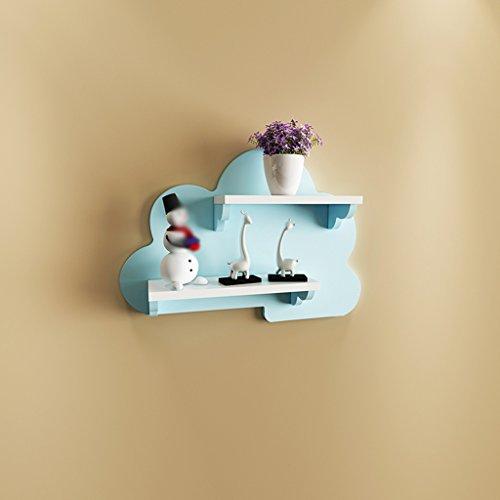 GYP Trennwände, Kreative Farbe Einfache Wohnzimmer Clubhaus Schlafzimmer Wand Regal Wand Hängende TV Kulisse Wolken Regalfarbe kaufen (größe : 60)