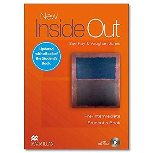 NEW INSIDE OUT Pre-Int Sb (eBook) Pk