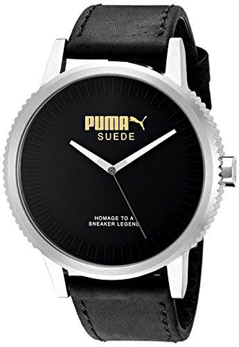 PUMA Unisex PU104101001 Suede limited edition Analog Display Watch