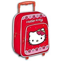 Hello Kitty AR641 - mochila carro capacidad 28 x 12 x 22 cm mochila infantil 34 cm , multicolor