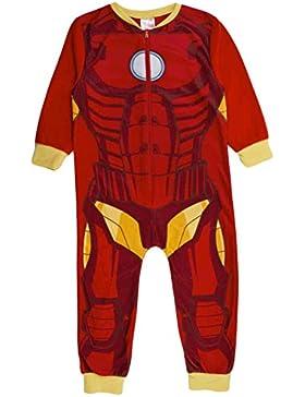 Kinder-Pyjama aus Fleece mit Aufdruck, Einteiler, 1–8Jahre