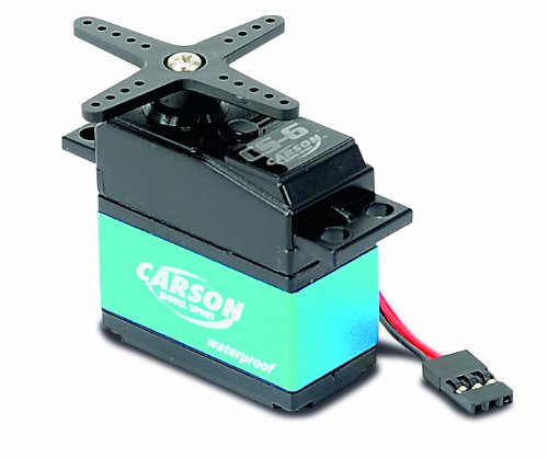 Carson 500502041 - Servo CS-6 Waterproof MG/ 6kg / JR