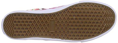 Dockers by Gerli Unisex-Kinder 38nr601-700 Low-Top Weiß (weiss/multi 505)