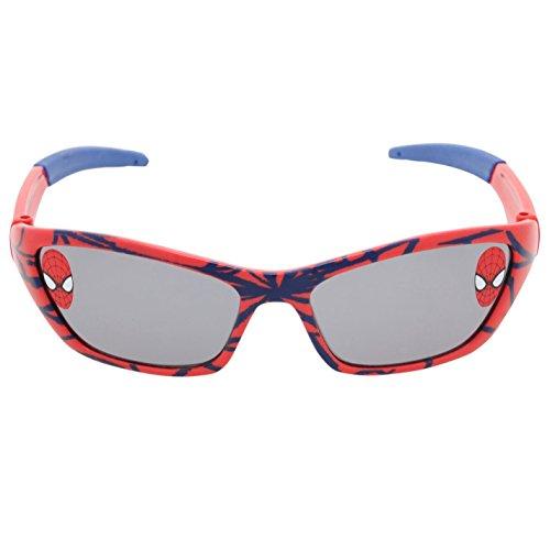 Spiderman Sonnenbrille Kinder Rot/Blau Sonne Brille getöntes Spezifikationen Brille, rot / blau, (Brille Spider Man)