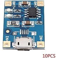 Morza 10pcs / / 2pcs TP4056 1A batería de Litio de 5 x Interfaz de Carga USB Tablero del módulo de batería de Litio Cargador Mini