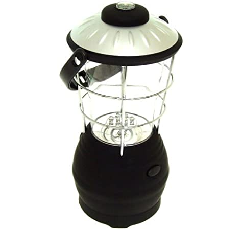 DYNAMO WIND UP LARGE CAMPING LANTERN with COMPASS both 3 LED and 12 LED fishing