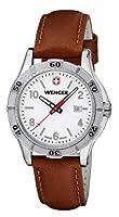 Reloj Wenger 10921101 de cuarzo para mujer con correa de piel, color marrón de Wenger