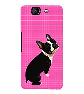 EPICCASE sad puppy Mobile Back Case Cover For Micromax Canvas Knight A350 (Designer Case)