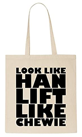 Look Like Han Lift Like Chewie T-Shirt Tote Bag