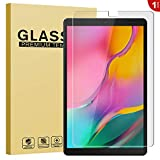 RIFFUE Panzerglas für Samsung Galaxy Tab A 10 T510, Samsung Galaxy Tab A 10.1 2019 Schutzfolie, 9H Gehärtete HD Displayschutzfolie Screen Protector Tempered Glass Folie 10.1