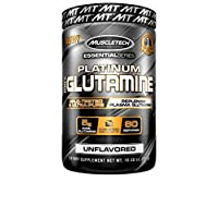MuscleTech Essential Series Platinum 100% Glutamine, 300 g