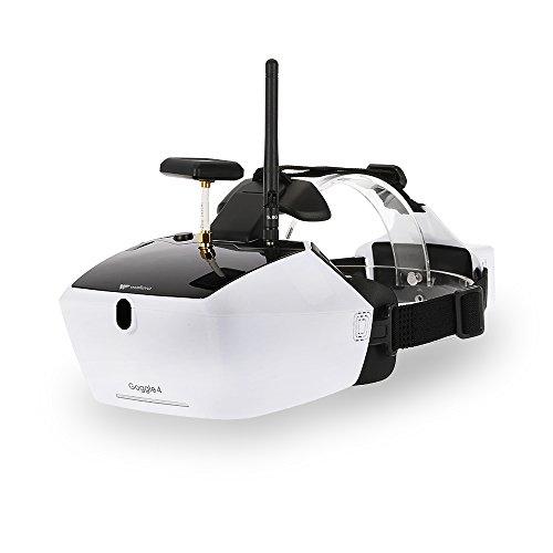 """Preisvergleich Produktbild Walkera Goggle 4 FPV 40CH Antenne Videogläser mit doppelten Antennen empfangen 5 """"HD großen Bildschirm für Läufer 250 F210 Rodeo 150 Furious 320 Racing Drohne"""