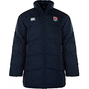 England 2012/13 Players Sideline Puffa Jacket Navy - XL