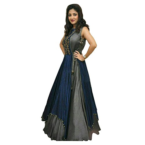 salwar suits(Women's Clothing salwar suits for women latest designer wear Salwar Suit collection in latest salwar suits beautiful bollywood salwar suits for women party wear offer designer Salwar Suits)  available at amazon for Rs.299