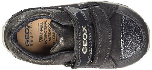 Geox B Shaax B, Chaussures Marche Bébé Fille Grau (DK GREYC9002)