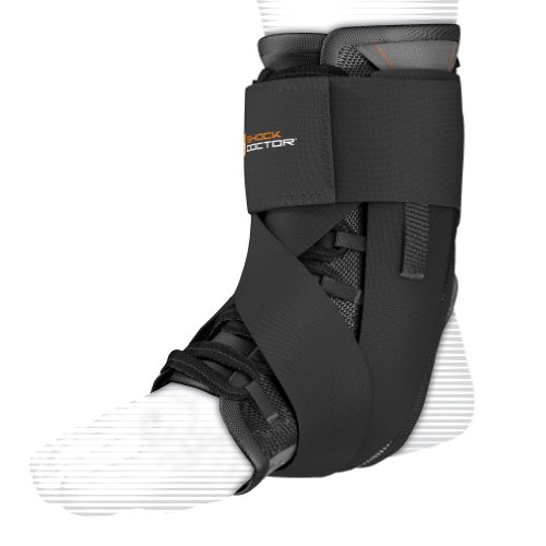 Shock Doctor Ultra-Wrap Lace Ankle Support Schwarz Medium Ankle Wrap