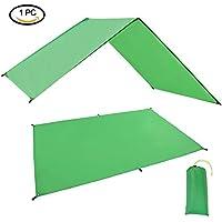 GEERTOP Waterproof Lightweight Tent Floor Footprint Tarp Rain Fly Sun Shelter Sunshade Mat and Ground Sheet for Outdoor Camping Backpacking Hiking Hammock