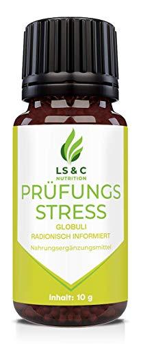 Prüfungsstress Globuli | Angst | Stress | Burnout | radionisch informiert | für Kinder | 10g