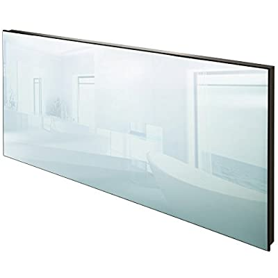 TecTake Spiegel Infrarotheizung Spiegelheizung 850 Watt ESG Glas Elektroheizung Infrarot Heizkörper Heizung inkl. Wand- und Deckenhalterung von TecTake auf Heizstrahler Onlineshop