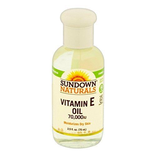 Sundown - Pure Vitamine E Huile, 70 000 Ui De Peau...