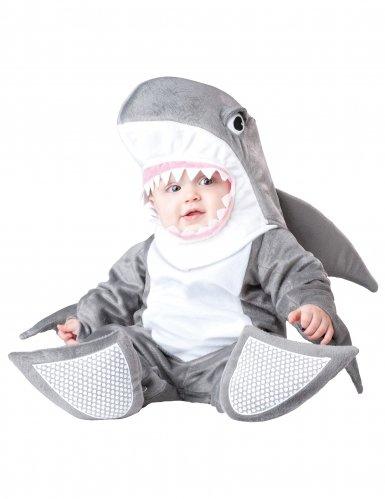 Generique - Deluxe Haifisch-Kostüm für Babys 68/74 (6-12 Monate)