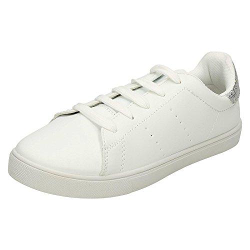 Spot On , Sandales Compensées femme Blanc